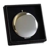 Compact Mirror in Gift Box - Silver