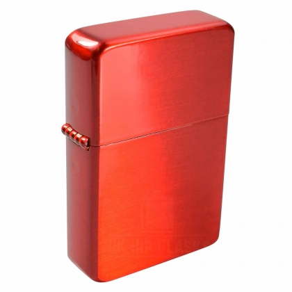 Brass Red Lighter