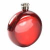 Round Hip Flask - Red
