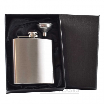 6oz Hip Flask in Gift Box