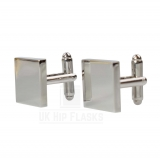 Square Cufflinks in Silver