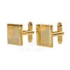 Square Cufflinks in Gold
