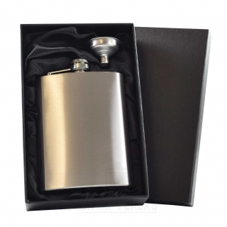 8oz Hip Flask in Gift Box
