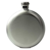 Round Hip Flask Steel - Grade B