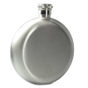 Round Hip Flask - Steel