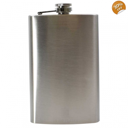 12oz Hip Flask - Grade B