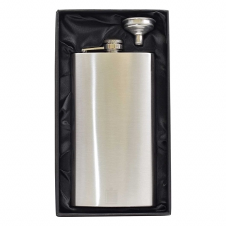 Large 12oz Hip Flask in gift box