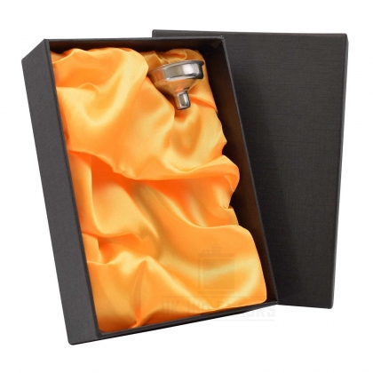 Gift Box and Funnel - Orange-Gold