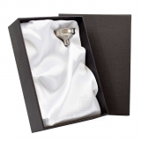 Gift Box and Funnel - Silver