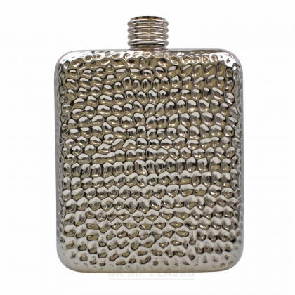 6oz Dimpled Hip Flask