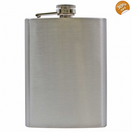 8oz Hip Flask - Grade B