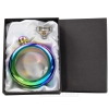 Hip Flask Bangle in Gift Box - Rainbow