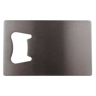 Rectangular Bottle Opener - Silver