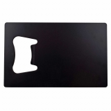 Rectangular Bottle Opener - Black