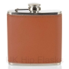 Leather 6oz Flask Tan - Grade B