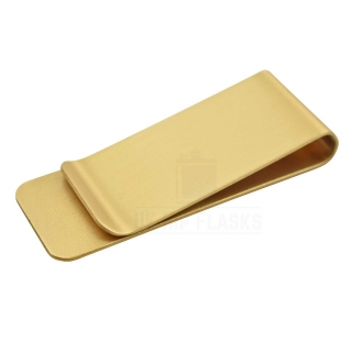 Brass Money Clip - Slim