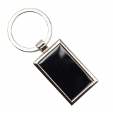 Keyring - Black Rectangle