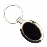 Keyring - Black Oval