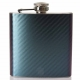 Hip Flask- Carbon Fiber Two Tone P..