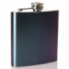 Hip Flask- Carbon Fiber Two Tone Purple/Green