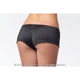 Booty Shorts Lycra Low Rise Black Whit..