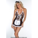 French Maid Lingerie Outfit Coquette -..