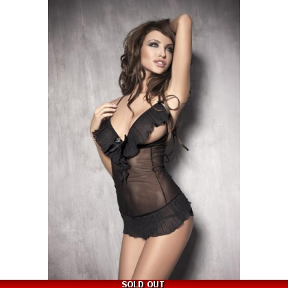 Caprice Babydoll Black Anais Sexy Lingerie