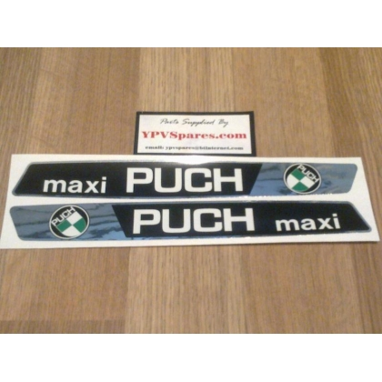 Puch Maxi Fuel Tank Decals