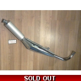 Tomos A3/A35 Chrome Bullet Exhaust
