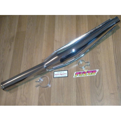 Jamarcol Fuego universal Exhaust 32mm Available in Chrome or Black