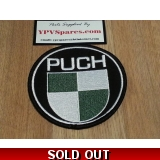 Puch Fabric Badge