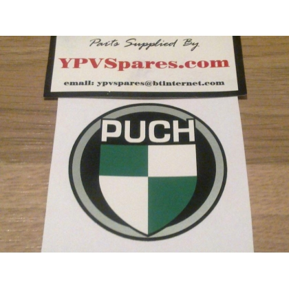 Puch Decal/Sticker available in 55mm & 60mm