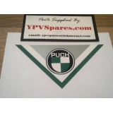 Puch Rear Mudguard Decal