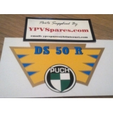Puch DS 50 R Rear Mudguard Decal