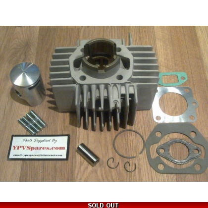 Puch MAXI 50cc 6 Port Cylinder Kit Old Model Small Finns