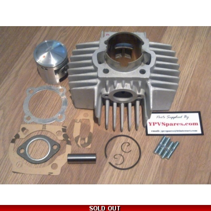 Puch MAXI Airsal 70cc Big Bore Cylinder Kit large fins 4 Port