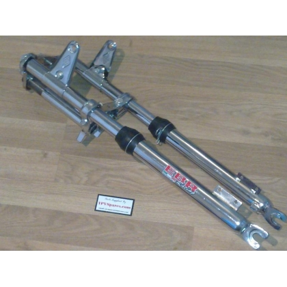 Puch Maxi EBR Front Forks in Chrome