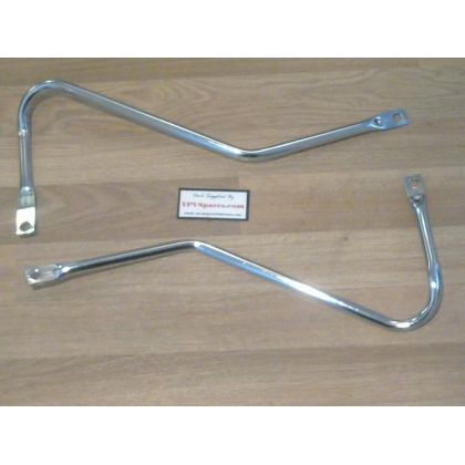 Puch MAXI Chrome Frame Bars, for 'S' type