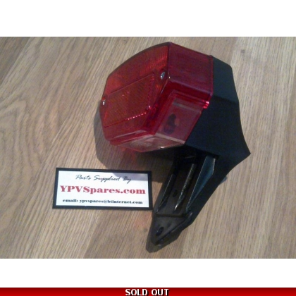 Puch MAXI Late Type Rear/Brake Light Assembly
