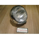 Puch MAXI Round Front Head Light in Ch..