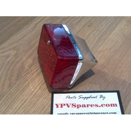 Puch MAXI Chrome Rear Light Assembly
