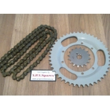Puch Maxi Chain & Sprocket Set, 16/45T