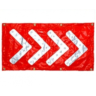 Roll Up Arrow LED Board Chevron Stripe..