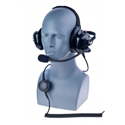 PDM-1-NC Behind the head dual muff Heavy Duty headset