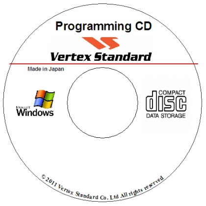 Vertex CE-74 Programming Software CD v1.0