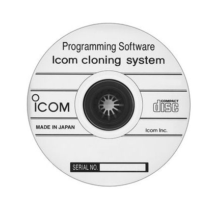 ICOM CS-F100 Programming/Cloning Software F121, F221 Series Ver 1.7