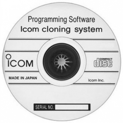 IC-A120 Programming Software CD
