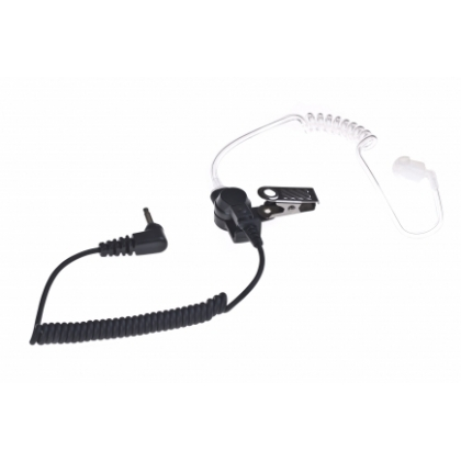 Impact-3.5mm-Listen-Only-Earpiece-Speaker-Mic-Motorola-Kenwood