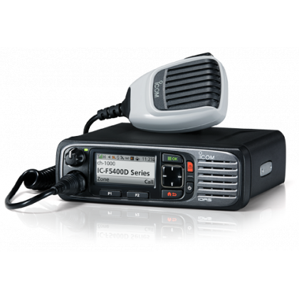 Icom F6400DS 11 IDAS Digital UHF Mobile Radio