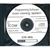 Icom R6 Sport Programming Software CD
